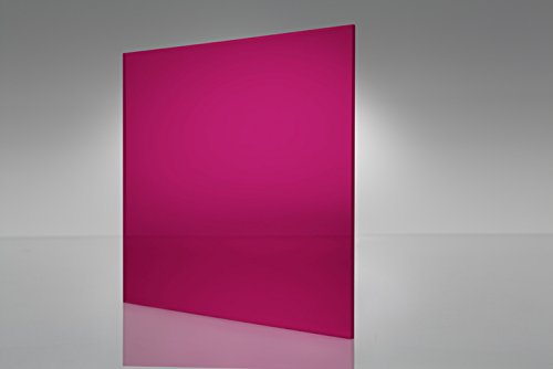 Acrylic Sheets Fluorescent Pink 12