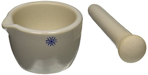 United Scientific Supplies JMD050 Mortar and Pestle, Deep Form, 50 ml Acid Deep Dish