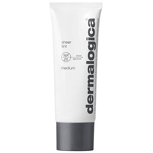 Dermalogica Sheer Tint Sunscreen Lotion SPF 20, Medium, 1.3 Fl Oz
