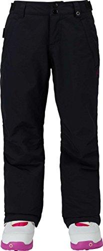 Burton Youth Girls Sweetart Pants, True Black, Medium