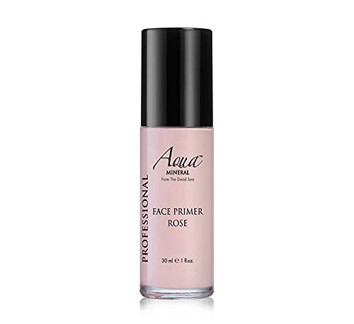 Aqua Mineral Face Primer Rose foundation-makeup Cosmetic from the dead sea 30ml