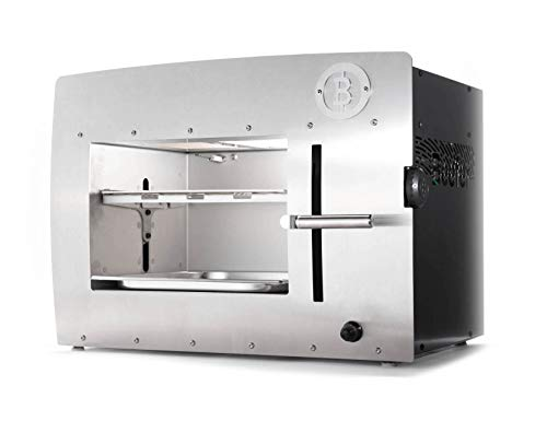 Beefer XL – 1,500 Degree Grill Outdoor – Infrared Grill – 100% Stainless Steel – The Original for Perfect Steaks, Burgers and so Much More · Ready to Go Set