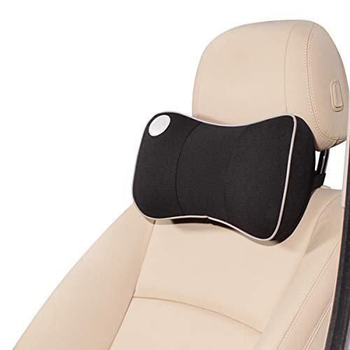 Ergocar Ortopedico Almohada de Cuello - Cojin de Asiento para Coche para Alivio de Dolor de Espalda & Cuello, Cojin para Casa, Oficina, Coche, Viajes (Almohada de Cuello - 1 Pack)
