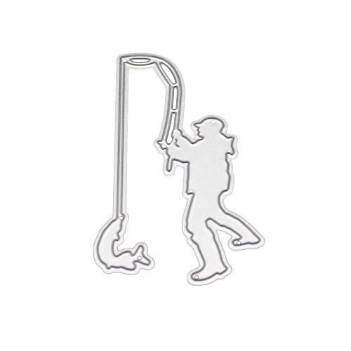 POQOQ Metal Die Cutting Dies Stencil Decor Craft for DIY Scrapbooking Album Paper Card A
