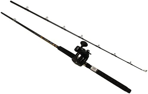Okuma Great Lakes Trolling Combo, 8 6 Length, 2Piece Rod, Medium Auction, 2 BB Bearings