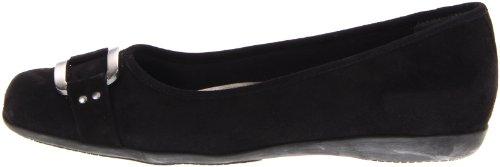 Trotters Sizzle Signature Mujer US 7 Negro Estrechos Zapatos Planos