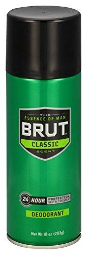 Brut Deodorant 10oz Aerosol Classic Scent (6 Pack)