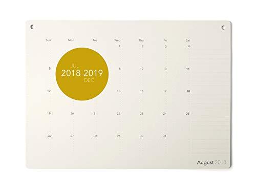 Elegant Desk Calendar 2019 · Large Monthly Desk or Wall Calendar · 17.8