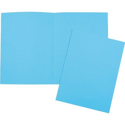 5 Star 41010R Aktendeckel 250g Inh.100, blau