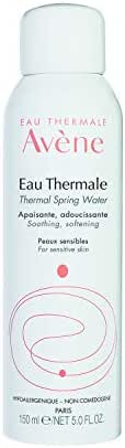 Eau Thermale Avene Thermal Spring Water, Soothing Calming Facial Mist Spray for Sensitive Skin, 5 Fl Oz (Pack of 1)
