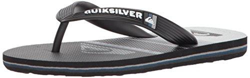Quiksilver Boys' Molokai Highline Slab Youth Sandal, Black/G