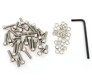 Stainless Steel Carburetor Allen Bolt Set - Honda VF1100C/S Magna Sabre - (Carburetor Bolt)