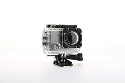 Uniquer Sport DV SJ9000 WiFi 14MP 170 Degree 1080P Digital Waterproof Helmet Sports Action Car Camera Silver
