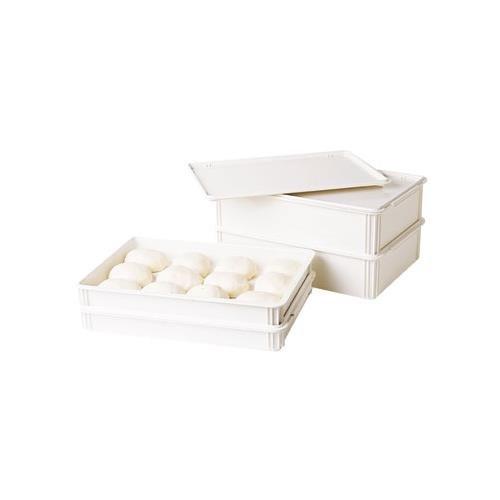 Cambro DB18263CW148 Pizza Dough Box - Camwear Polycarbonate, 18''Wx26''Dx3''H