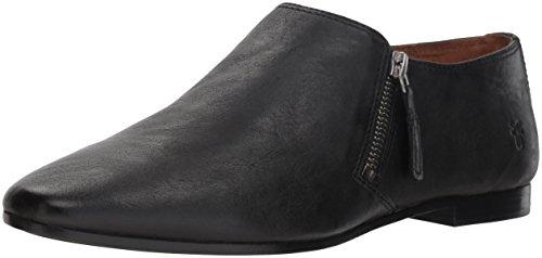 FRYE Women's Terri Zip Ankle Bootie Boot, Black