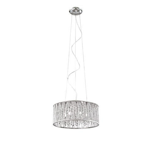 Trans Globe Lighting MDN-1149 Indoor Loretta 15.74 Pendant Polished Chrome