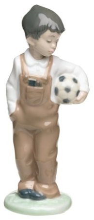 Nao by Lladro Collectible Porcelain Figurine: WANNA PLAY? - 7 1/2