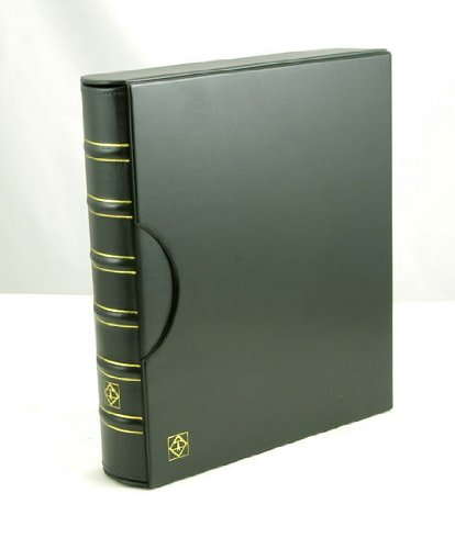 Lighthouse Green Classic Grande 3-Ring Binder with Slipcase Storage Case for Coins, Stamps, Currency, Bank Notes, Documents, and Other Collectibles – Pages Sold Separately