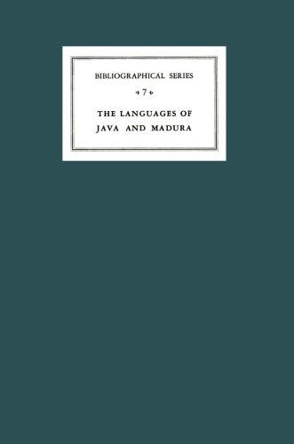 A Critical Survey of Studies on the Languages of Java and Madura: Bibliographical Series 7 (Koninklijk Instituut voor Taal-, Land- en Volkenkunde)