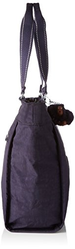 Kipling Damen New Shopper S Tote, 42x27x0.1 cm Violett (Blue Purple C)