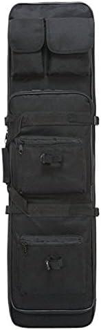 Linkin Sport Tactical Rifle Case Rifle Shotgun Soft Case THREE Size Available (Black, L)