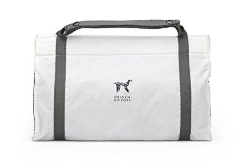 Origami Unicorn TUO -Travel Undergarment Organizer - New Packing Solution (Signature White) ()