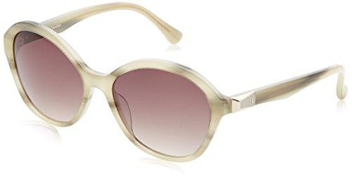 Calvin Klein Cat Eye, Gafas de Sol para Mujer, Beige, 56 ...