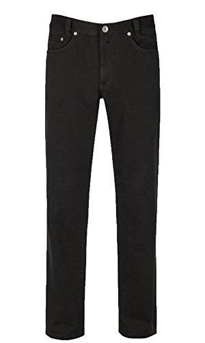 JOKER Jeans Harlem Walker Gabardine schwarz, Beinlänge 32, Weite 42