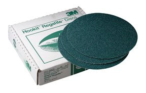 3M Green Corps 751U Coated Aluminum Oxide Hook & Loop Disc - 36 Grit - 8 in Dia - 00525 [PRICE is per BOX]