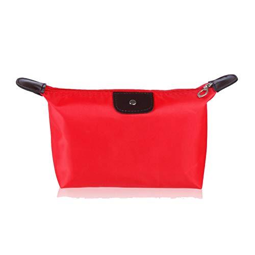 Lady Dior Quilted Bag - New Multifunction Makeup Bag Women Cosmetic Bags Organizer Box Ladies Handbag Nylon Travel Storage Bags Wash Bag,Red