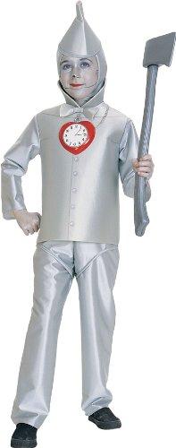 Wizard of Oz Child's Tin Man Costume, Medium (Wizard Of Oz Tin Man Costume)