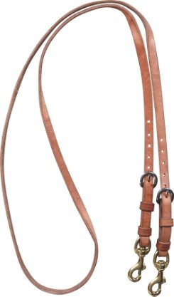 Martin Saddlery Double Buckle Adjustable Roping Rein Adjustable Rein