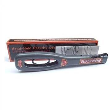 HOLIYTON GP-008 - Detector de Metales Manual (Detector de Metales de Alta sensibilidad, Detector de Metal): Amazon.es: Jardín