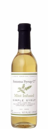 Sonoma Syrup Co Mint Simple Syrup 1 12.7 oz