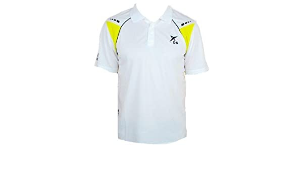 Drop-Shot - Polo pádel drop shot oxel, talla m, color blanco ...