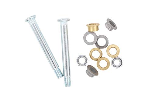 Front Door Hinge Pin and Bushing Repair Kit 2 pin 1 Door for Ford Lincoln ()