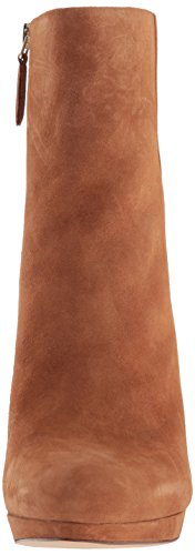 Nine West Boot Quanette 260 Suede Women's Ankle Natural Dark UHqwxUrdS