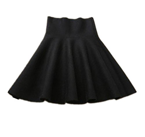 Dcontracte Jupe Mini Parapluie Jupe Taille Haililais Fit vase Femelle Plisse Tendance Jupe Black Jupe Femme Haute Slim Jupe wxgwE1tI