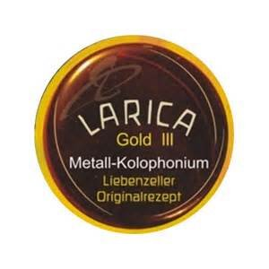 Liebenzeller Larica Gold III, Cello Rosin Hard