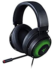 Razer Kraken Ultimate - USB Gaming Headset (Gaming Headphones voor PC, PS4 en Switch Dock met Surround Sound, ANC-microfoon en RGB Chroma)