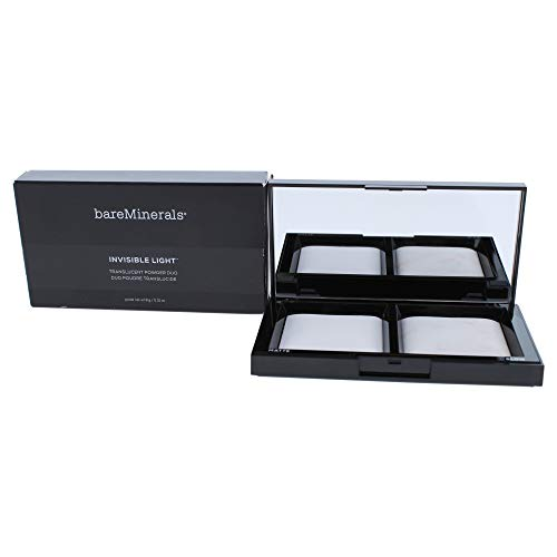 bareMinerals Invisible Light Translucent Powder Duo, 0.31 Ounce (Highlighting Powder Duo Mineral)