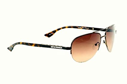 Emporio Armani Gafas de sol 9750/S 0A9V marrón 59MM: Amazon ...