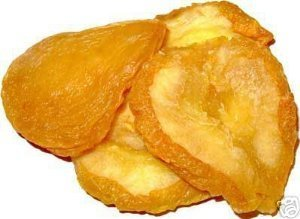 Pear Slices - Sun Dried California Pears, No Sugar Added, 3 lbs bag by Green Bulk