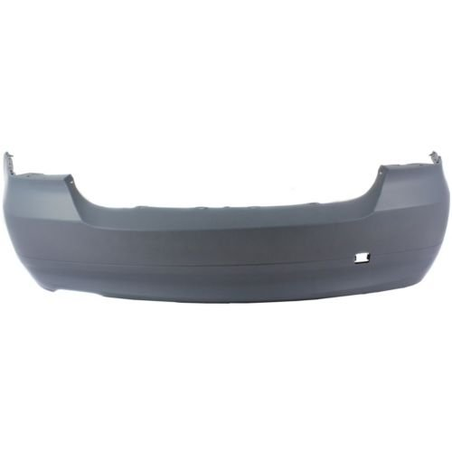 Perfect Fit Group REPB760148 - 3-Series Rear Bumper Cover, Primed, W/O Park Distance Control And M Pkg., Sdn