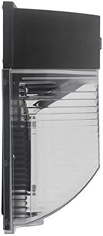 LEDwholesalers 26-Watt LED Wall Mount Outdoor Light Fixture with Photo Sensor, ETL-Listed, Warm White 3000K, 3768WW-R2