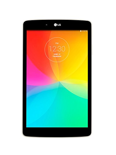 LG G Pad LGV480W 8.0-Inch Wifi Only Tablet (White) by LG