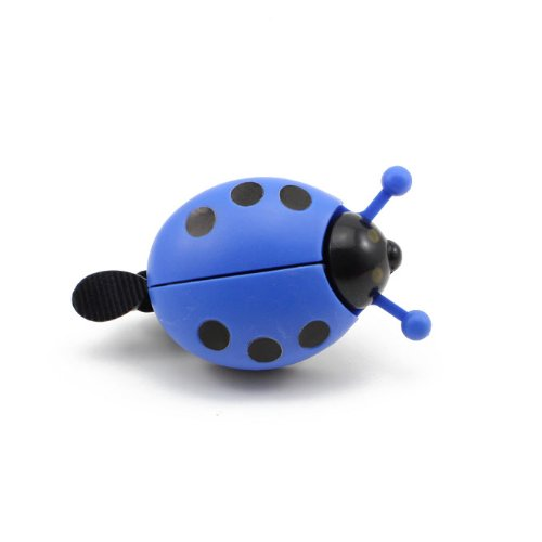 Blue Cute Kid Funny Lady Beetle Ladybug Cycling Bicycle Bike Bell Ring Horn HuaYangca