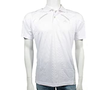 adidas Pro 365 Polo de Tenis Camiseta, Blanco, Medio: Amazon.es ...