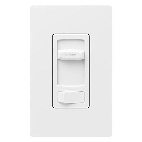 Lutron CTCL-153PDH-WH Skylark Contour 150W Single Pole/3-Way CFL LED Dimmer, White