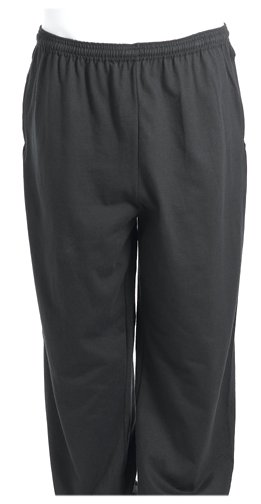 Russell Pro Cotton - Russell Athletic Men's Big and Tall Cotton Jersey Pant with Pockets, Black, XLT